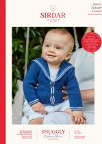 Sirdar Snuggly Baby Cashmere Merino DK Knitting Pattern Booklet - 5247 Sailor Jacket